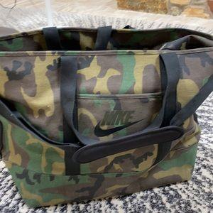 Nike camo bag